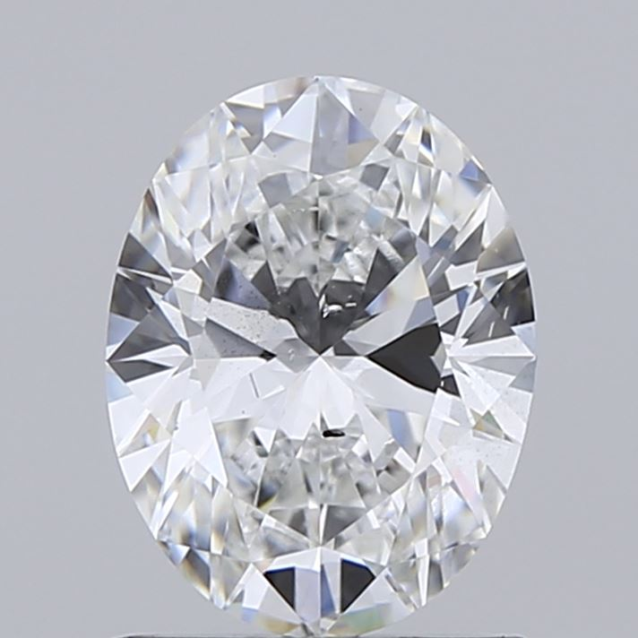 1.01 Carat E-SI1 Very Good Oval Diamond