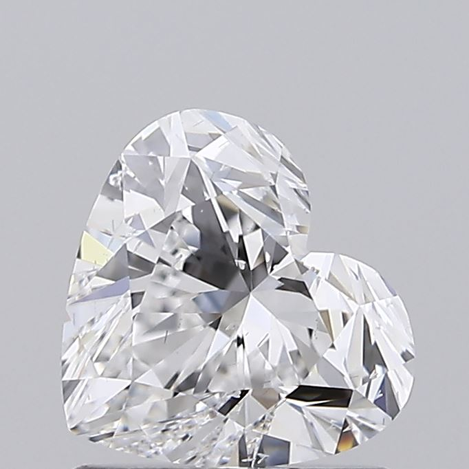 1.00 Carat D-SI1 Ideal Heart Diamond