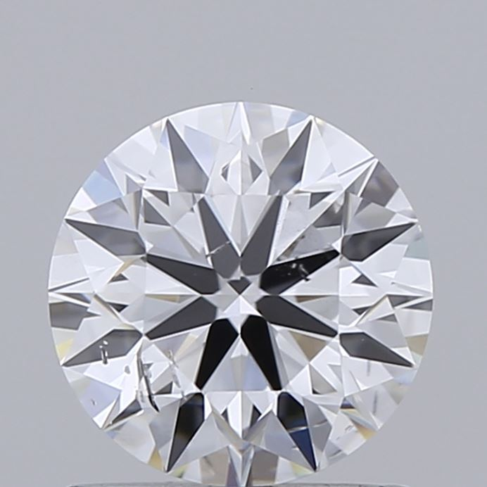 0.91 Carat D-SI2 Ideal Round Diamond