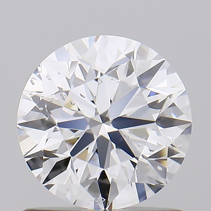 0.90 Carat D-SI2 Very Good Round Diamond