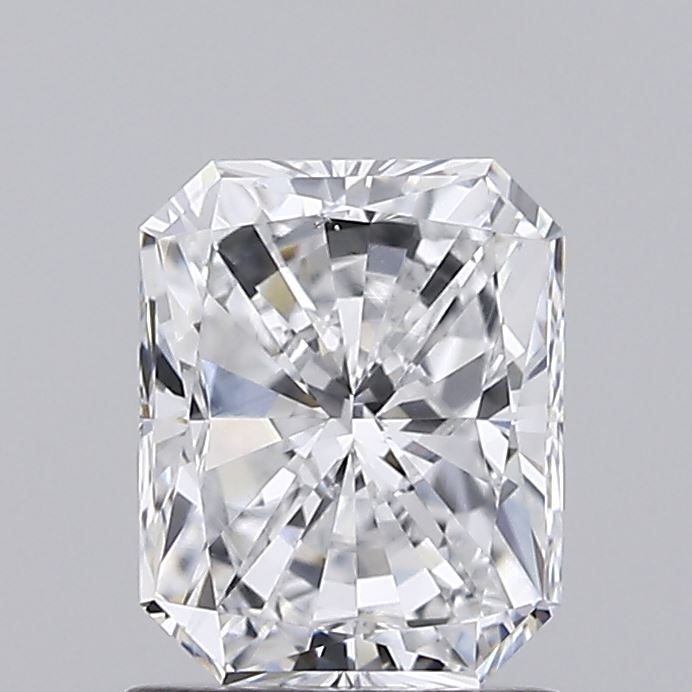 1.41 Carat D-VS2 Very Good Radiant Diamond