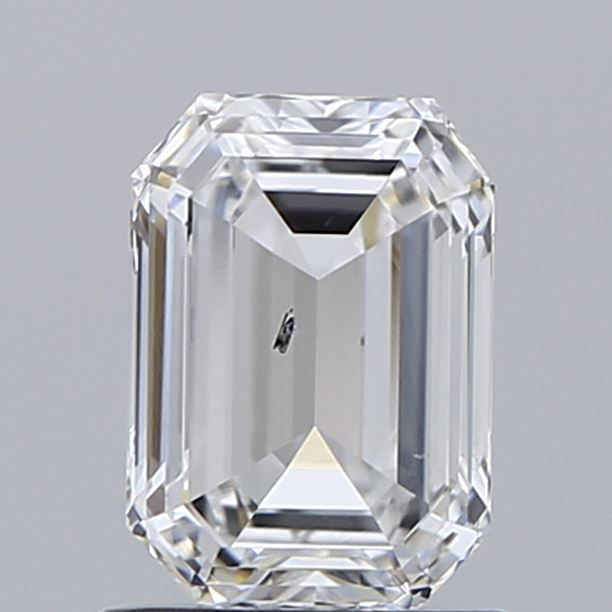 1.06 Carat E-SI1 Very Good Emerald Diamond