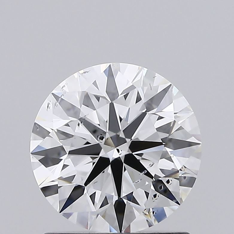 1.08 Carat D-SI1 Ideal Round Diamond