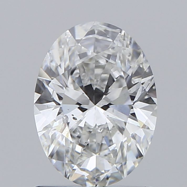 1.02 Carat F-SI1 Excellent Oval Diamond