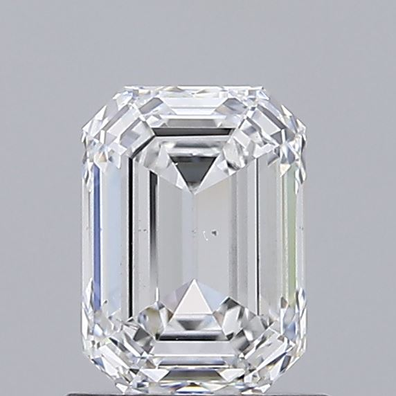 1.01 Carat D-VS2 Very Good Emerald Diamond